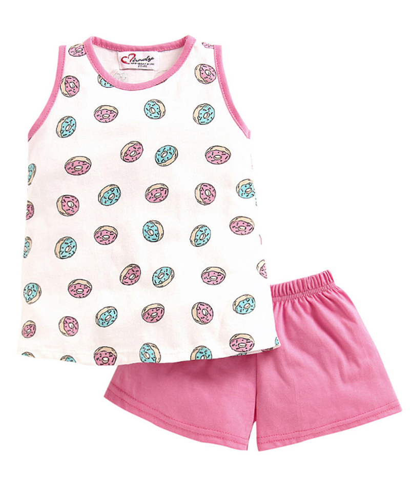 mandy-dresses-cute-doughnuts-top-with-pink-shorts-ac-985-2