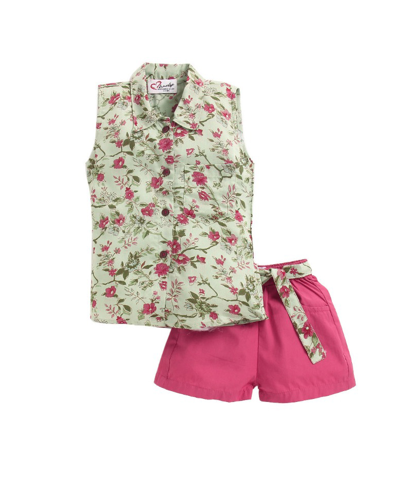 mandy-dresses-green-shirt-with-knotted-shorts-ac-938-1