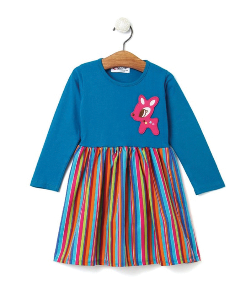 mandy-dresses-litle-pony-blue-striped-dress-ac-857-1