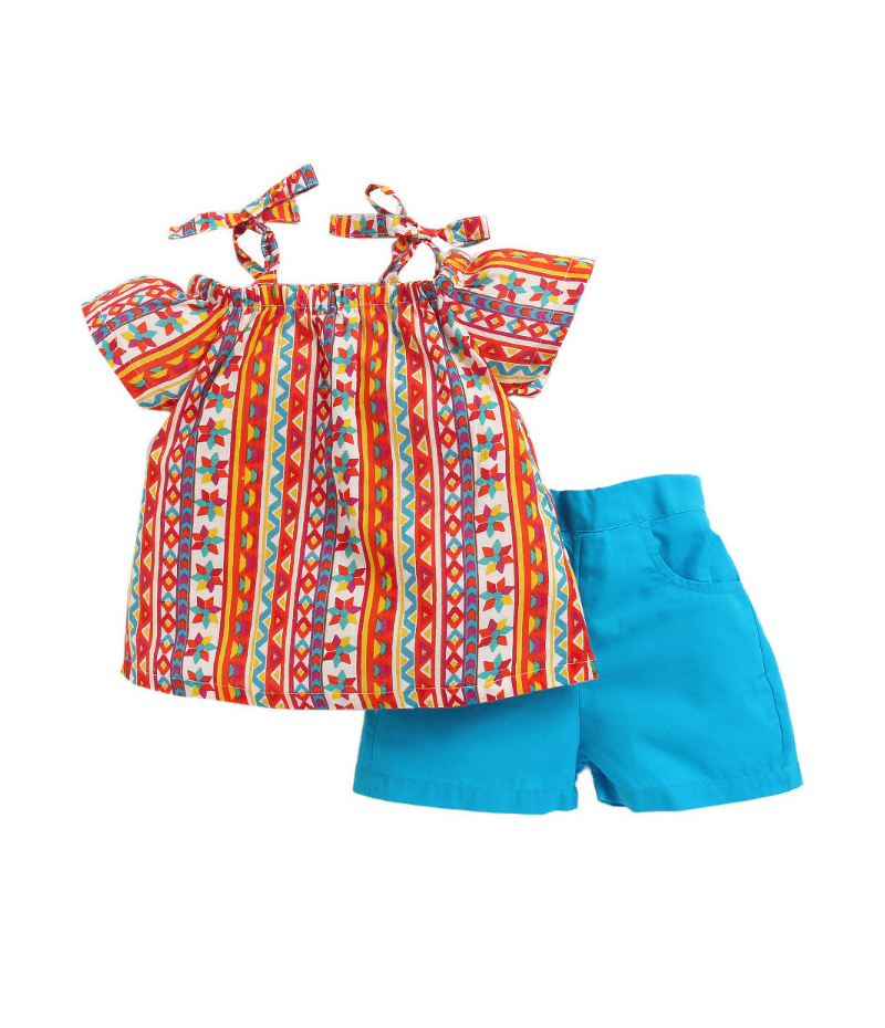 mandy-dresses-multi-tie-knot-top-with-blue-shorts-ac-948-1
