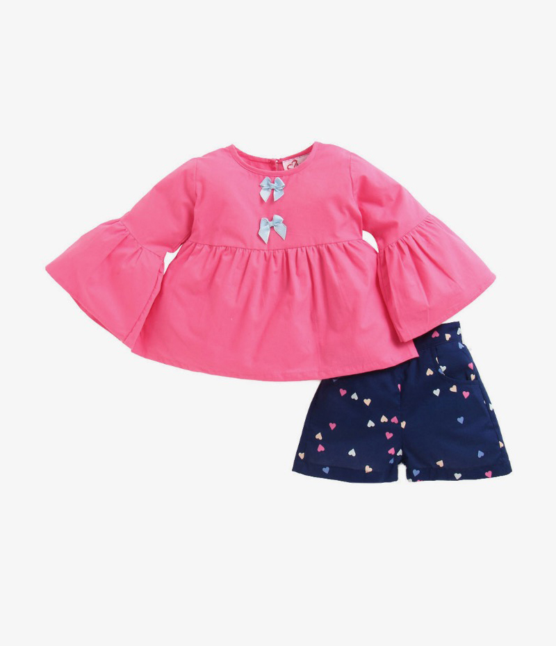 mandy-dresses-pink-frill-top-with-hearts-shorts-ac-952-1