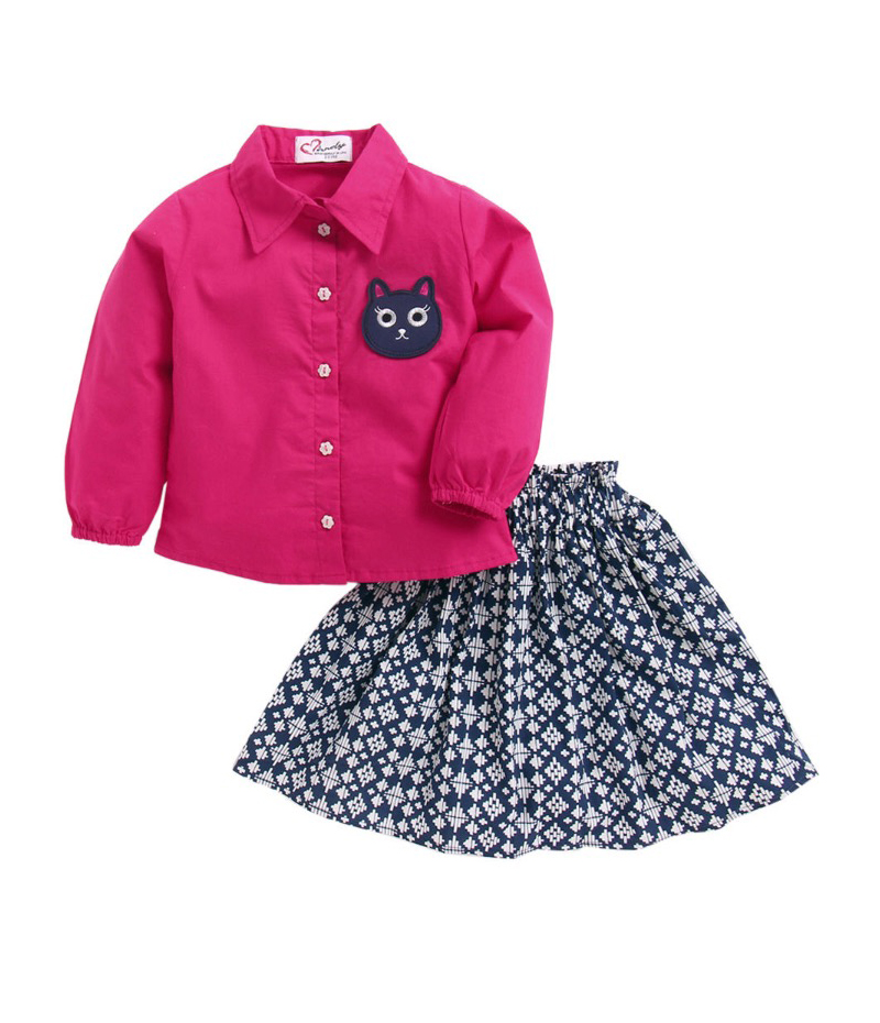 mandy-dresses-pink-shirt-with-kitten-and-skirt-ac-956-1