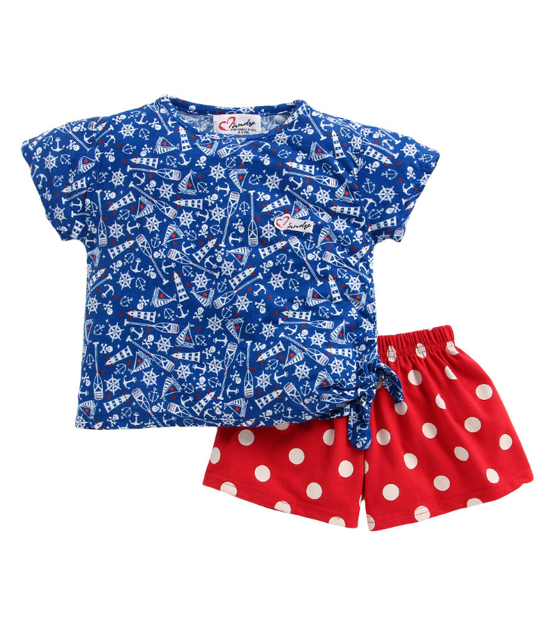 mandy-dresses-sailor-side-knot-top-with-polka-dot-red-shorts-ac-1003-2