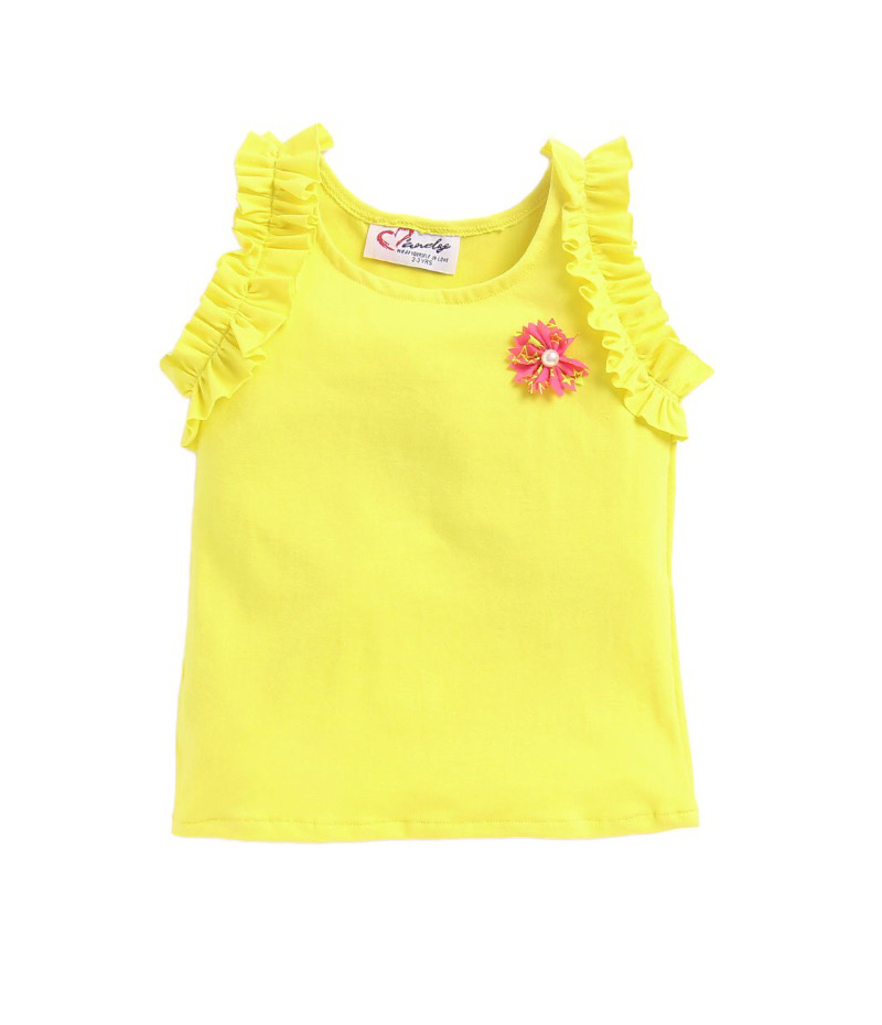 mandy-dresses-yellow-frill-top-with-polka-dot-shorts-ac-940-2