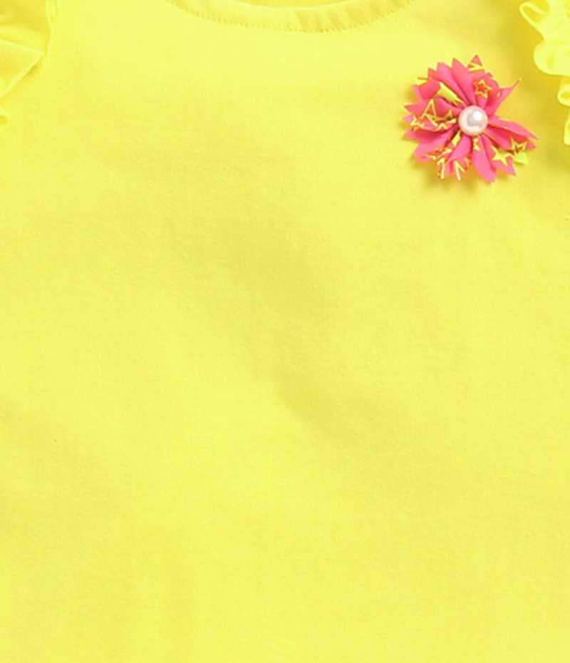 mandy-dresses-yellow-frill-top-with-polka-dot-shorts-ac-940-4